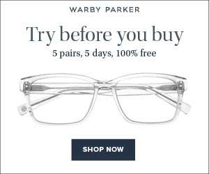 Warby Parker Home Try On Program