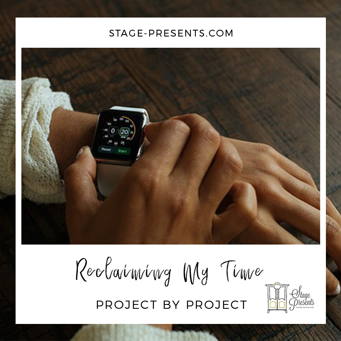 Reclaiming My Time - August 2017 - stage-presents.com