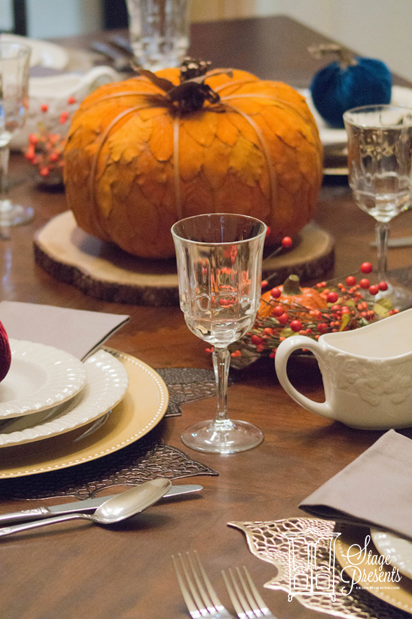 Fall Home Tour 2017 : Fall Tablescape