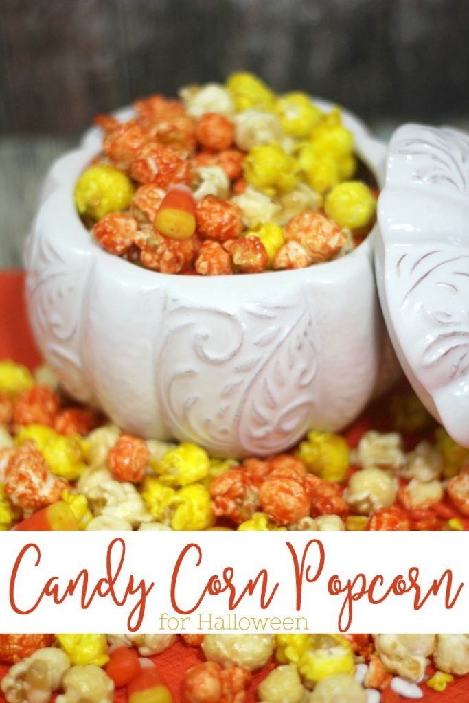 Halloween Popcorn Halloween Candy Corn Chocolate Popcorn