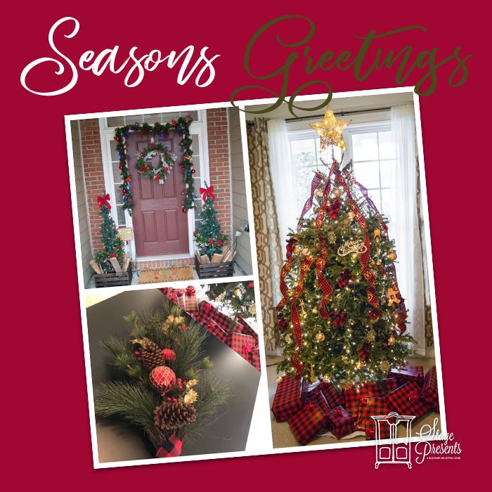 Our Christmas Home Tour 1 of 3